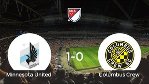 El Minnesota United vence en casa al Columbus Crew por 1-0