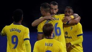 Negredo anotó el primer gol del partido.