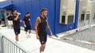 Neymar, en el campo de entrenamiento