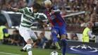 Neymar firmó uno de los siete goles ante el Celtic