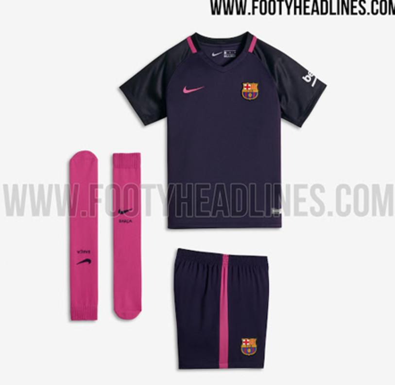 dfbd9e6f31f The new Barça away kit for the 2016 17 season
