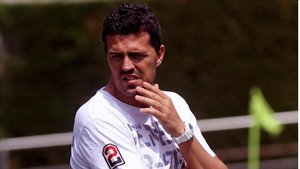 Òscar Garcia en su etapa como técnico del Barça Juvenil A