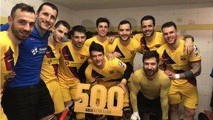 Pablo Álvarez celebró un nuevo récord con sus compañeros