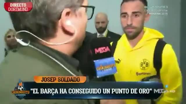 Paco Alcácer estalla contra el Barça publicamente