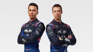 Pilotos oficiales de Toro Rosso: Albon y Kvyat