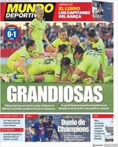 Portada de Mundo Deportivo del 22 de abril