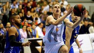 Prepelic tuvo una destacada actución en Burgos