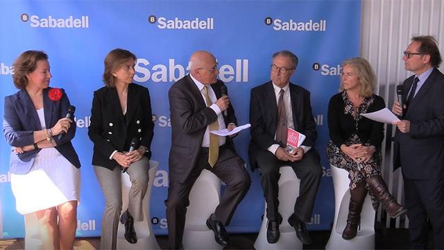 Presentada la campaña Aces solidarios en el Barcelona Open Banc Sabadell