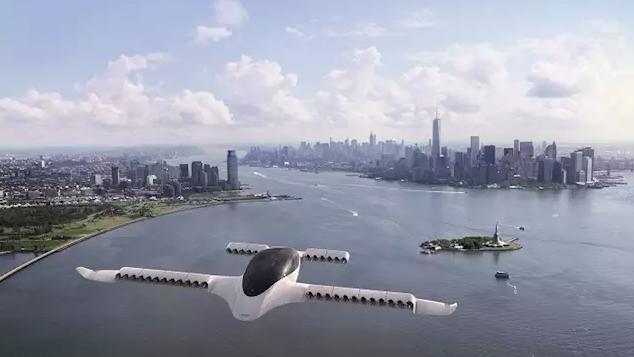 El prototipo de Lilium Jet alcanza los 100 km/h en una prueba.