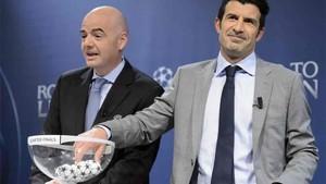El Real Madrid tiene suerte en los sorteos