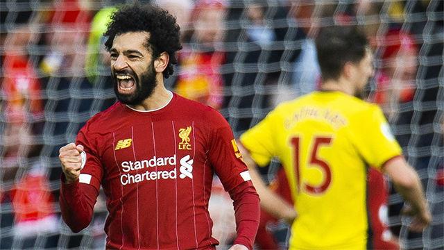 Salah hace más líder al Liverpool