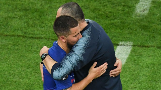 Sarri: Sabía que Hazard quería irse y respeto su decisión