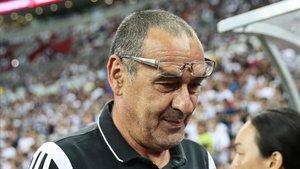 Sarri ya tiene una idea aproximada de cómo jugará su Juventus.