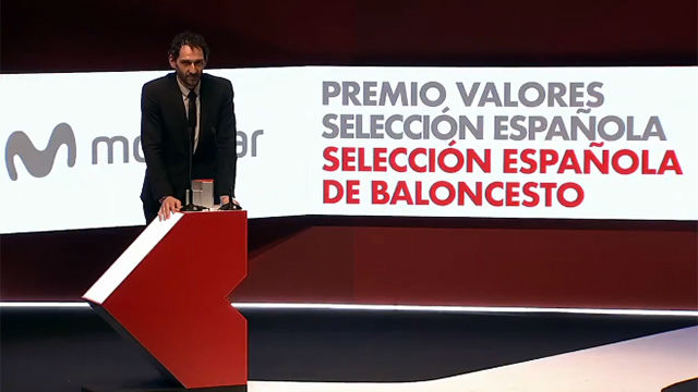 La selección de baloncesto, Premio Valores Selección Española