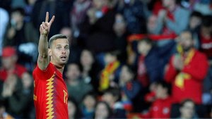 Sergio Canales debutó a los 28 años de edad con España