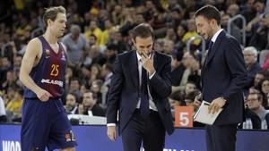 Sito quiere ser positivo en un momento complicado ante el Barça