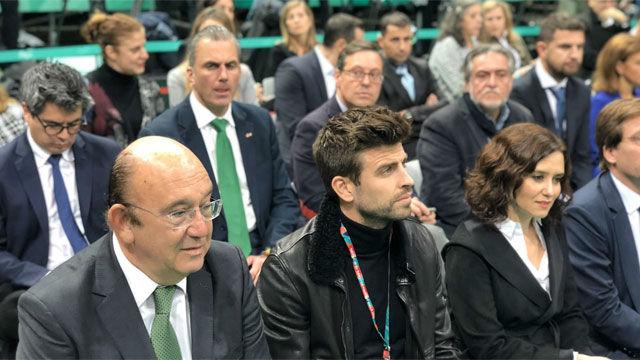 Tensión palpable entre Piqué y Ortega Smith, representante de VOX: No le saludo ni hoy, ni ayer ni mañana