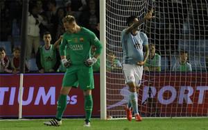 Ter Stegen falló en el cuarto gol
