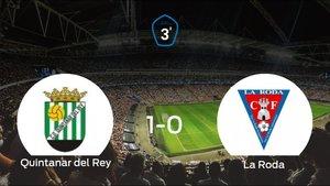 Triunfo 1-0 del Quintanar del Rey frente a La Roda