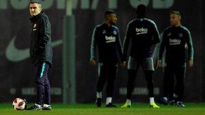 Valverde meditará si Vallecas es un buen escenario para las totaciones pensando en el Inter