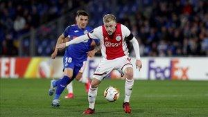 Van de Beek lleva tiempo en la agenda del Real Madrid