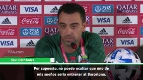 Xavi: No puedo ocultar que uno de mis sueños sería entrenar al Barça