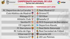 Calendario Completo.El Calendario De La Liga Del Fc Barcelona Al Completo