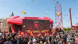 Gran apertura de Ferrari Land