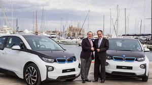 La red de BMW en Mallorca cubrirá cien puntos de carga.