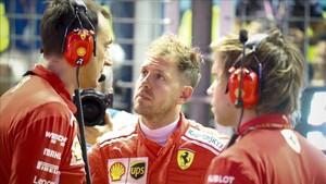 Problemas para Ferrari y Vettel