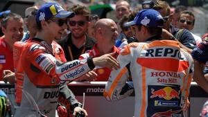La relación cordial entre Jorge y Marc saldrá tocada de MotorLand