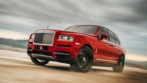 Rolls-Royce Cullinan, el SUV de lujo de la firma británica.
