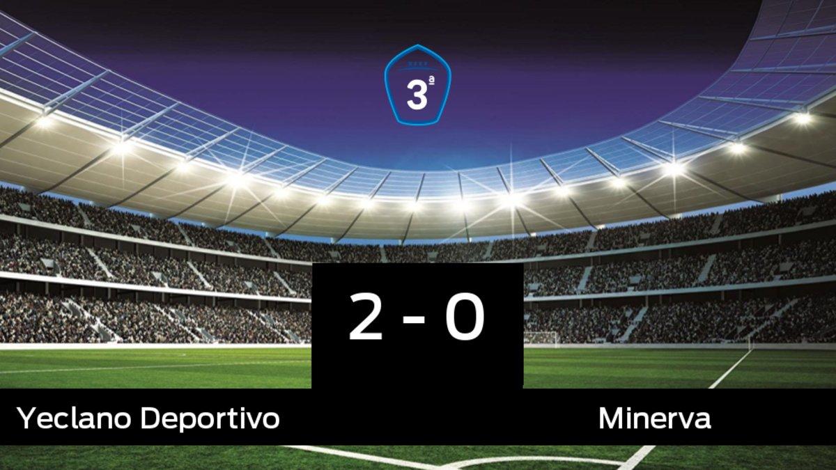Tres puntos para el equipo local: Yeclano Deportivo 2-0 Minerva