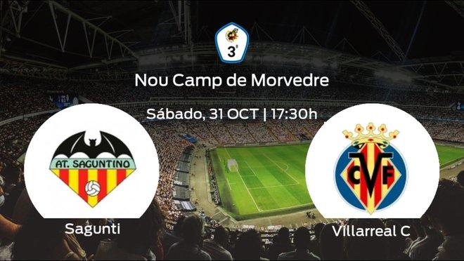 Previa del encuentro: el At. Saguntino recibe al Villarreal C