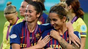 Andonova se despide del Barça