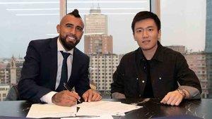 Arturo Vidal ha firmado por el Inter de Milán