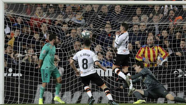 Así se narró en la radio el gol de Carlos Soler ante el Real Madrid