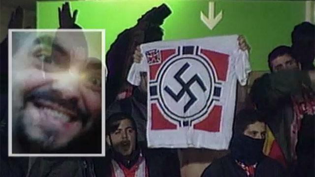 Así es Racionero, el ultra del Atlético detenido