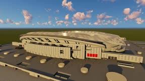 Así será la iluminación del nuevo estadio del Atlético de Madrid