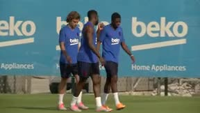 Así ha sido el primer entrenamiento de pretemporada del FC Barcelona