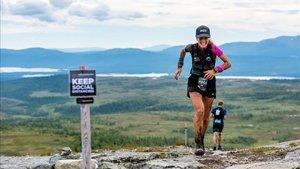 Azara García se lleva la victoria en la Fjällmaraton