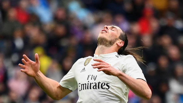 Bale se marchó pitado por su afición
