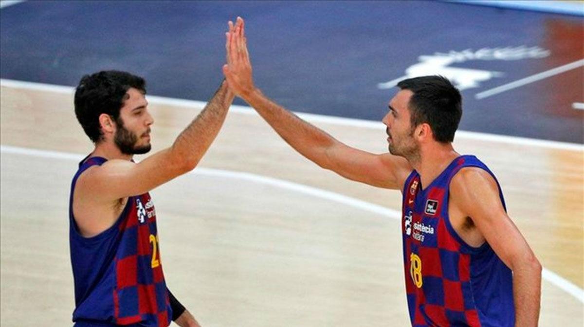 El Barça jugará la final de la Liga Endesa tras imponerse al San Pablo Burgos