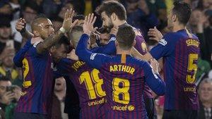 El Barça vive un momento dulce