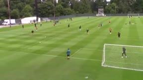 ¡BRUTAL! Qué golazo de Ayoze Pérez durante el entrenamiento del Newcastle