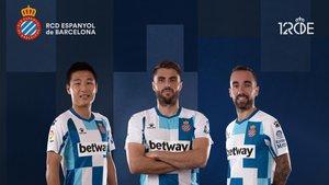 Camiseta conmemorativa del 120 aniversario del Espanyol