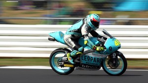 Dalla Porta ganó su primera carrera en el Mundial
