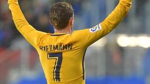 El dorsal con el 7 está reservado para que siga luciéndolo Griezmann