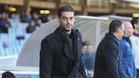 El entrenador del Barça B, Gerard López, tiene una dura misión por delante