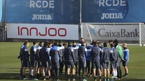 El Espanyol ha preparado este sábado la visita del Athletic